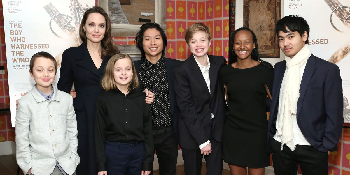 Angelina Jolie Children's