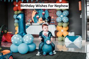 Best Birthday Wishes For Nephew