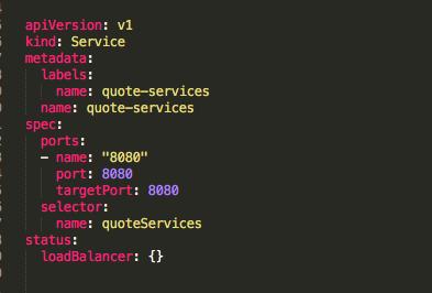 Creating Kubernetes YAML Files