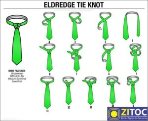 Eldredge Knot, How to tie a tie step by step guide