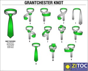 Read more about the article Grantchester Knot Tie, How to tie a tie step by step guide