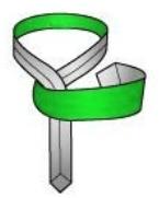 Make a horizontal band