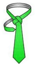 Tuck the thin end into the collar loop2